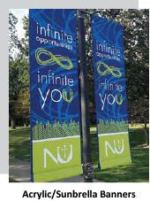 Acrylic Sunbrella Banners