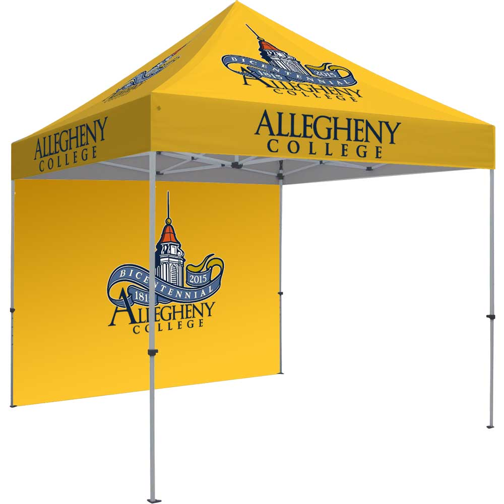 10'x10' Pop Up Tent Kit - Canopy, Backwall, & Frame