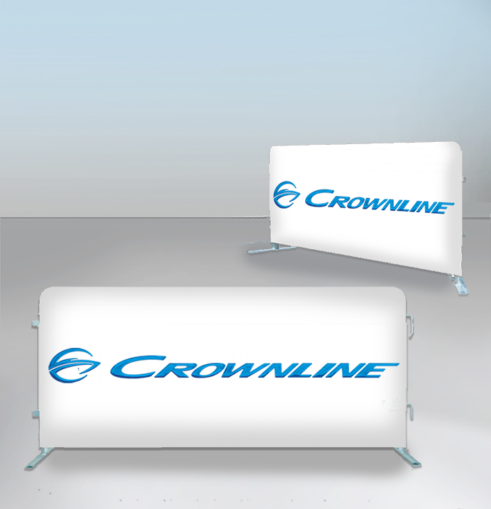 Crowd Barrier Covers