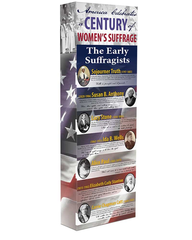The Early Suffragists - Women in History Display - 56