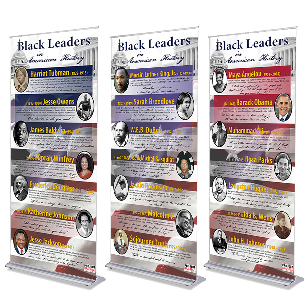 Black Leaders in American History Display - 36