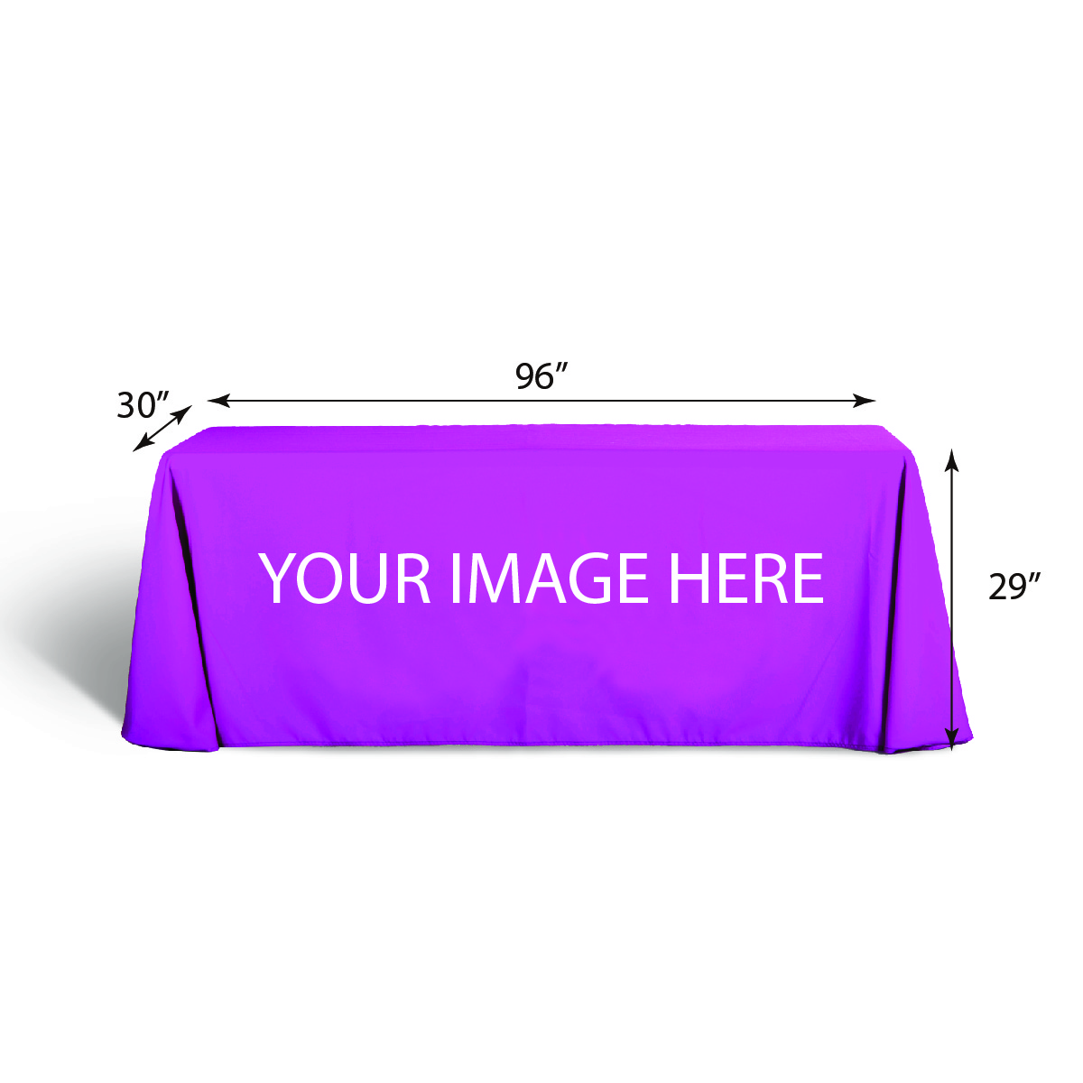 8' Draped Table Covers