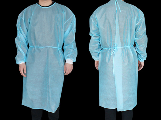 Medical Isolation Gown (Spun Polyolefin)