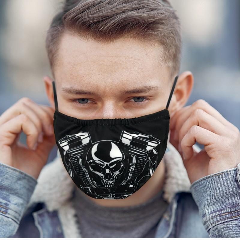 Custom Printed Fabric Masks