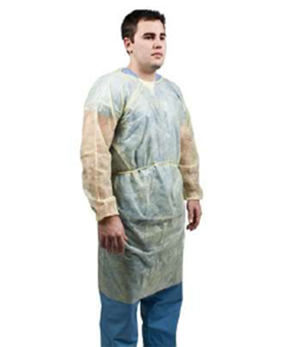 Medical Isolation Gown (Impermeable Polypropylene)