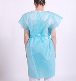 Patient Exam Gown (45gsm) - NR - Tie Waist  - Close Back
