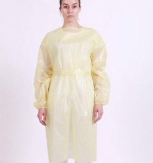 Chemotherapy Procedure PP/PE Gowns (45gsm) - L2 - Tie Waist - Full Back