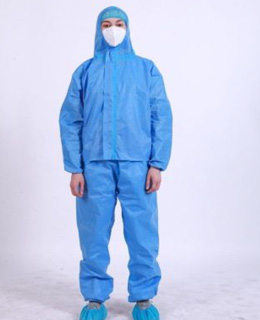 Coverall Protective SMS Suit (45gsm) - L3