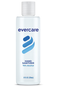 Evercare - 8 oz. Sanitizer Gel